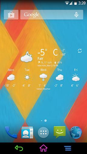 Chronus: Fresh Weather Icons