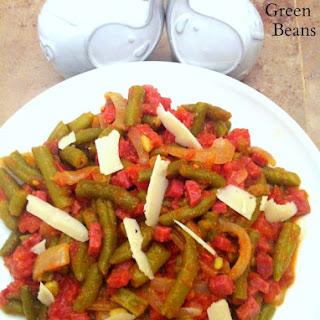 Salami'd Green Beans