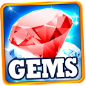 Crazy Gems –  Match 3 Game icon
