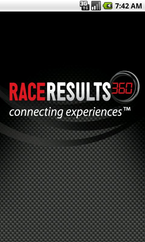 RaceResults 360 - screenshot