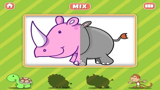 Animal Farm Mix Match Kids