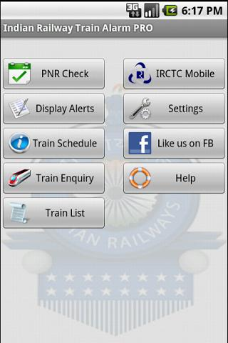 Indian Railway Train Alarm PRO