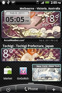 9s-Weather Theme+(Valentines)- screenshot thumbnail