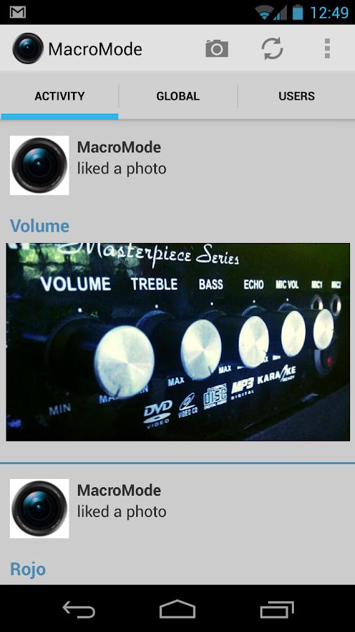 MacroMode - screenshot