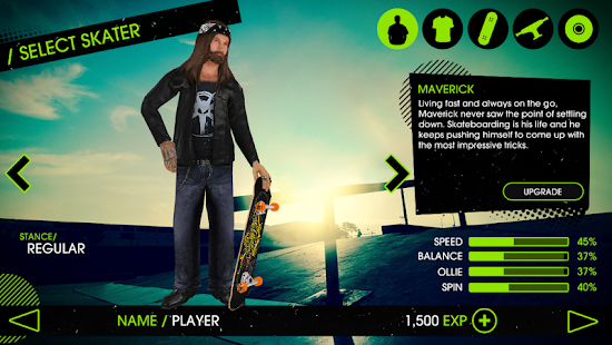 3 Skateboard Party 2 Lite App screenshot