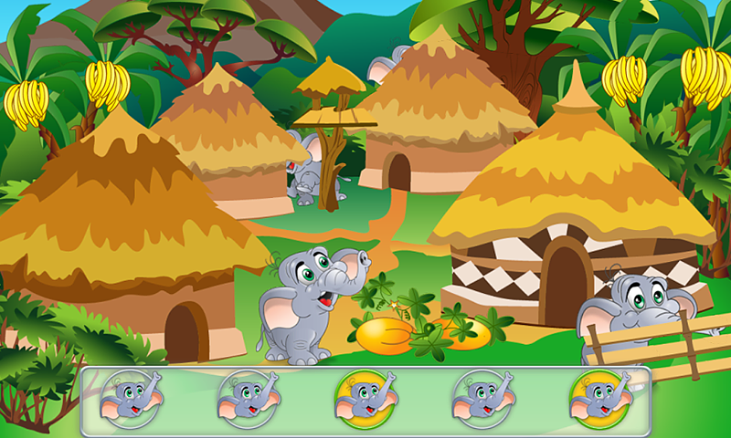Animal Hide and Seek for Kids- screenshot