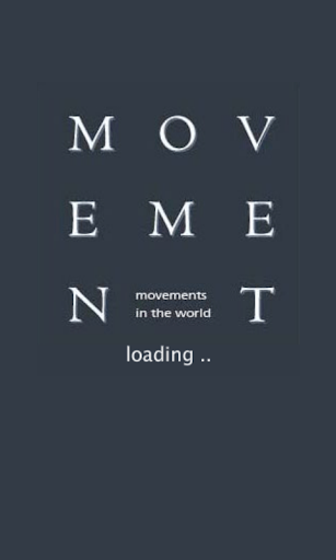 MOVEMENT in the world