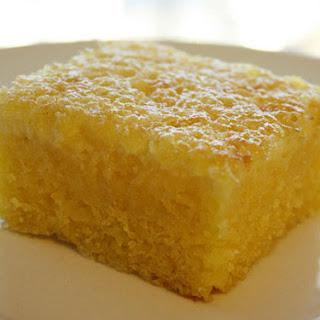 Cornmeal Cake (Bolo de Fubá)