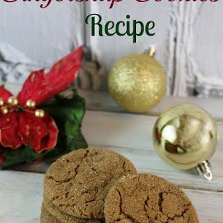 The Best Gingersnap Cookies Recipe!
