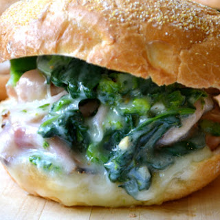 Roast Pork and Broccoli Rabe Sandwich