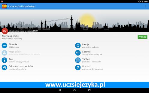 Ucz się języka Hiszpańskiego - screenshot thumbnail