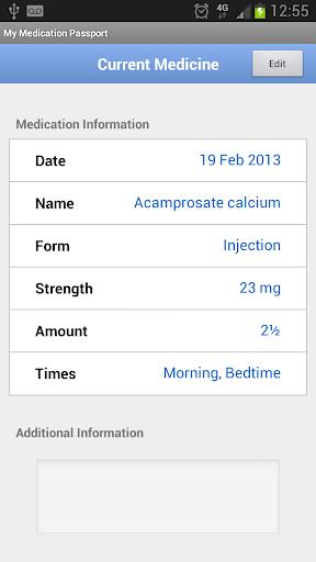 【免費醫療App】My Medication Passport-APP點子