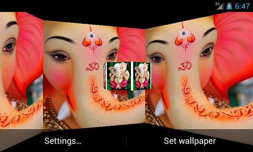 Lord Ganehsa 3D Live Wallpaper