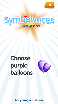 SYMBOLYNCES - Children's game - screenshot