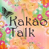 KakaoTalk Flower Garden Theme