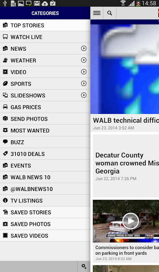 WALB News 10- screenshot