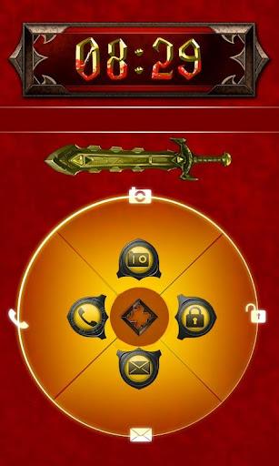 Sword Go Locker Theme