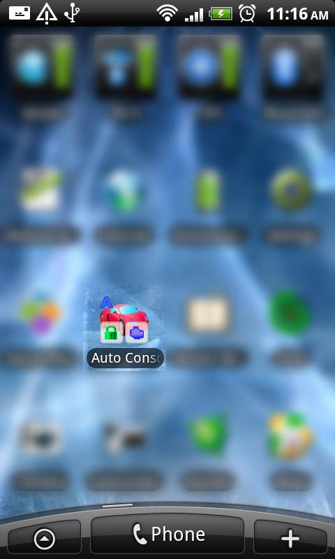 Control of the Car- screenshot