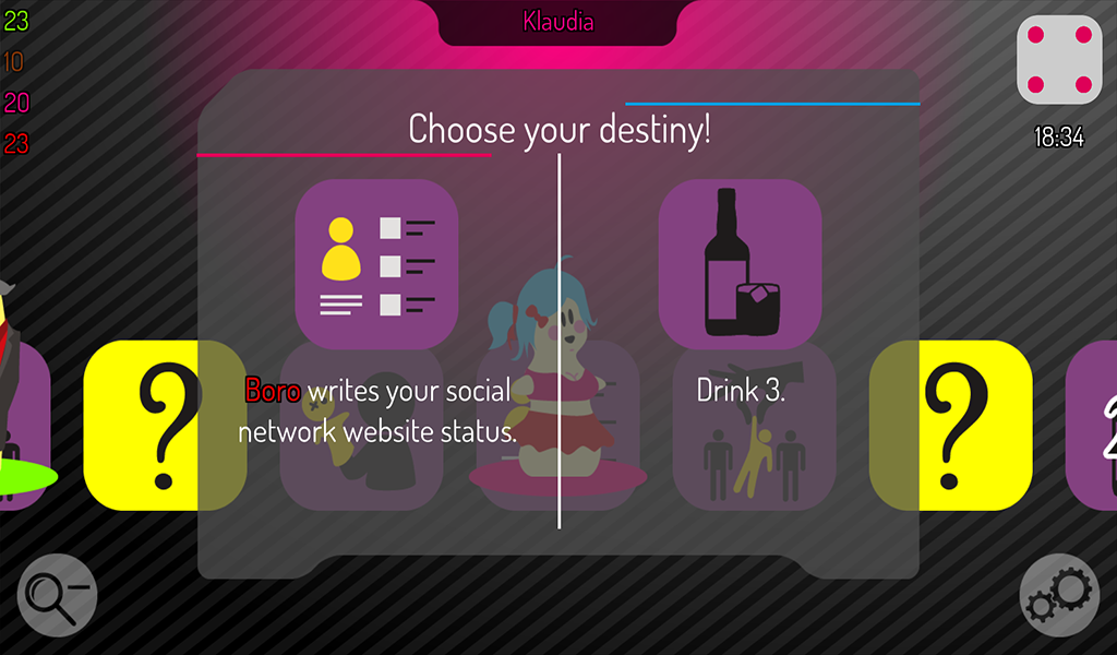 KingOfBooze Lite Drinking Game - screenshot