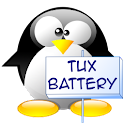 Mini Battery Widget Tux plus icon