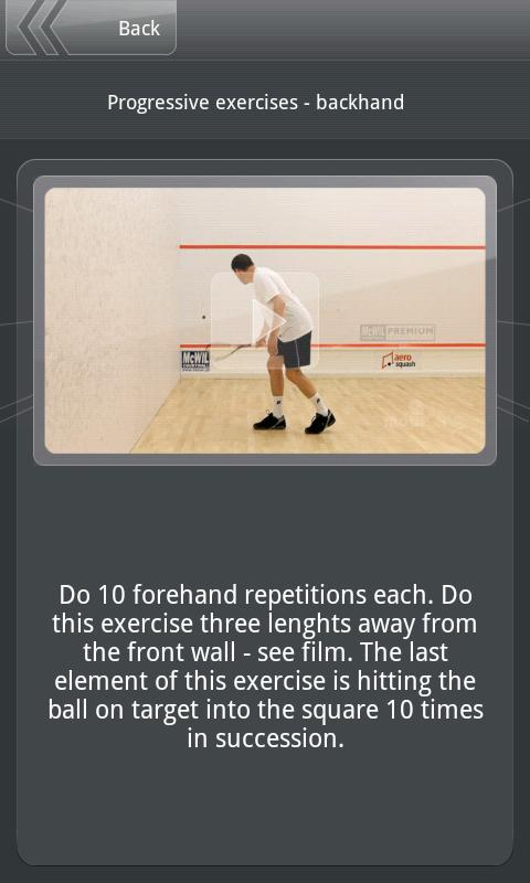 Squash Academy- screenshot