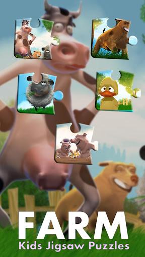 Farm Games Kids Jigsaw Puzzles  screenshots 5