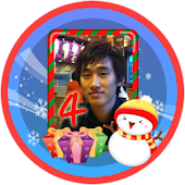 Christmas Frame Widget Fourth