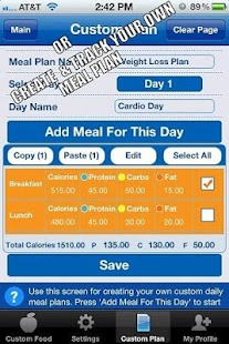 Nutritionist-Dieting made easy- screenshot thumbnail