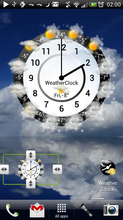 Weather Clock Unlock - screenshot