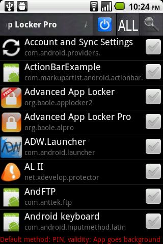 Advanced App Locker Pro v0.982