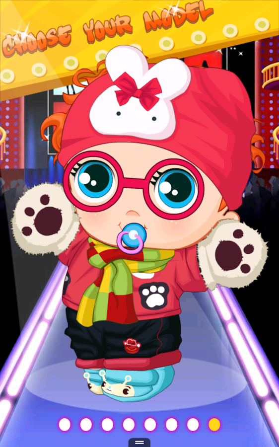 Cute Baby Dressup - screenshot