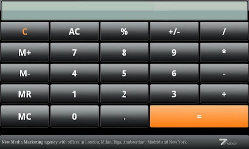Calculator screenshot 0