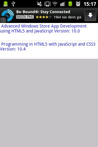 MS MCSD style Apps HTML5 Free