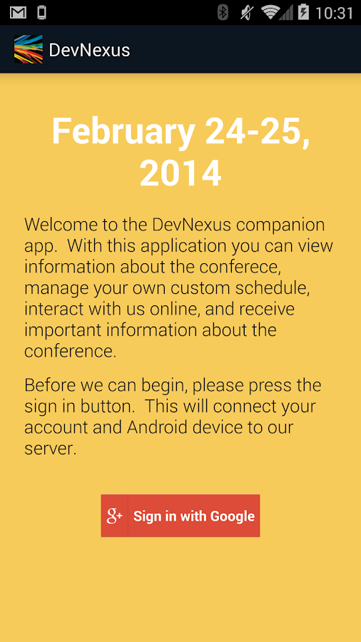 DevNexus 2014 - screenshot