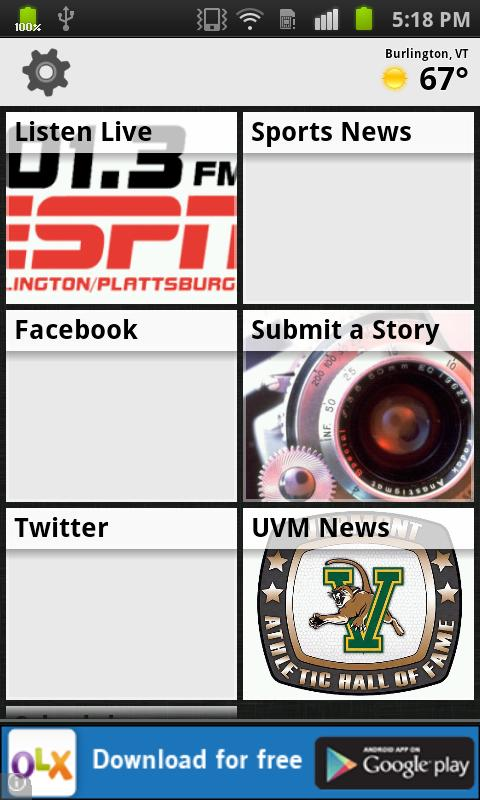 101.3 ESPN - screenshot
