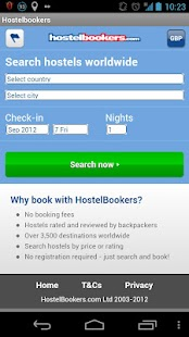 HostelBookers - screenshot thumbnail