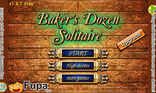 Bakers Dozen Solitaire Premium