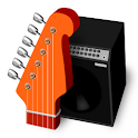 RockOut – Guitar logo