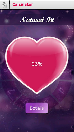 Love Test Calculator  captures d'u00e9cran 3