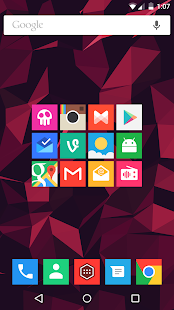 Minimal UI - Icon Pack- screenshot thumbnail