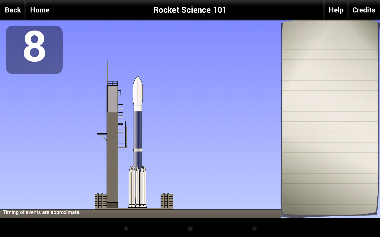 Rocket Science 101 - screenshot