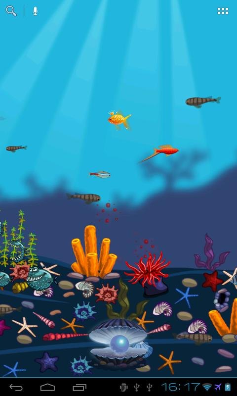 Aquarium Live Wallpaper Free - screenshot