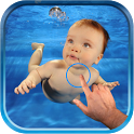 Magic Ripple : Baby in Water icon