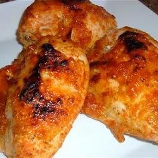 Chicken with Plum Glaze.