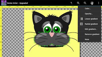 Screenshot of Vector Artist