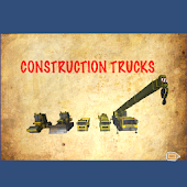 Construction Trucks Popup Book