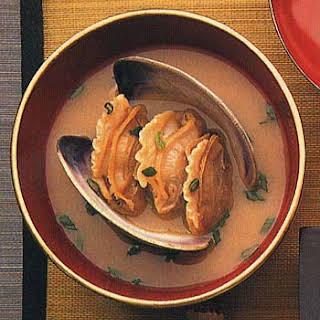Sea Treasure Clam Miso Soup.