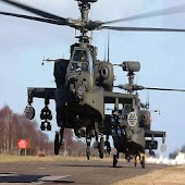 Air strikes: Armed Helicopter