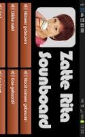 Screenshot of Zatte Rita Soundboard