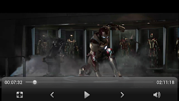 Screenshot of Equalizer Video Player